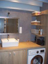 Salle de bain en b ton cir pont audemer mgr - Salle de bain en beton cire ...
